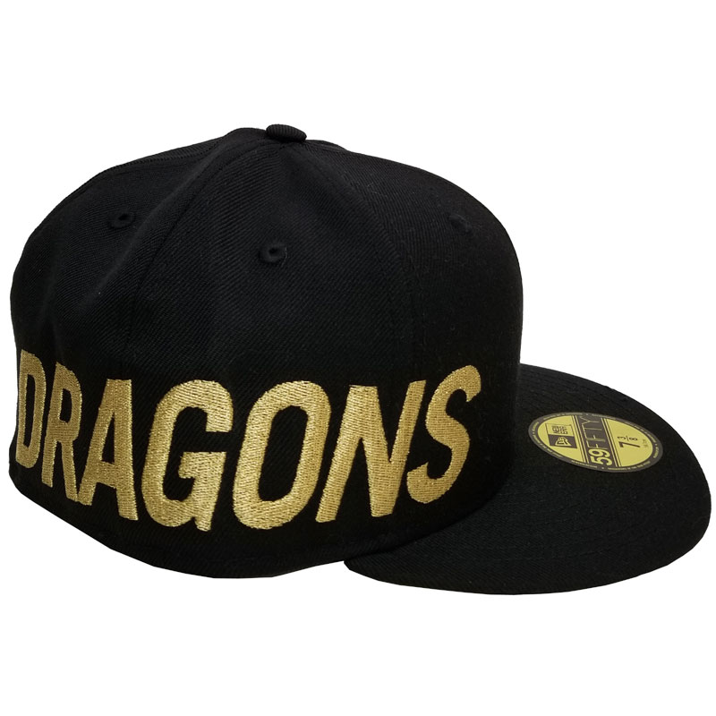 5950 DRAGONS SIDE BIG BLACK GOLD
