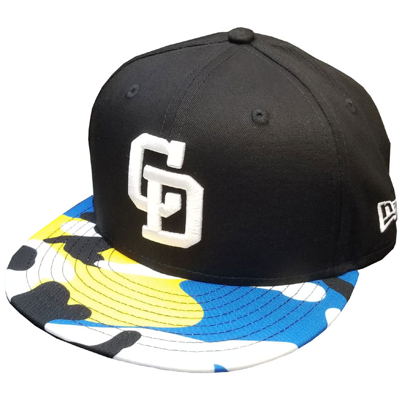 YOUTH950 DRAGONS BLACK BLUE CAMO