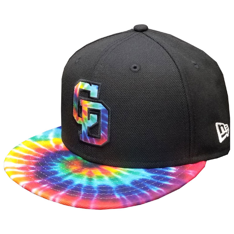 YOUTH950 DRAGONS BLACK COLOR TIE DYE